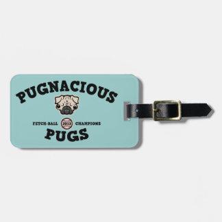 Pugnacious Pugs Tag For Luggage