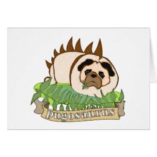 Pugosaurus Card