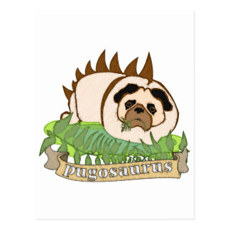 Pugosaurus Postcard