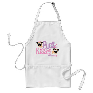 Pugs and Kisses Apron