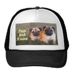 Pugs and Kisses Hat