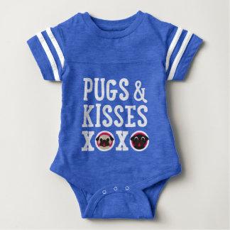 Pugs and Kisses XOXO Baby Bodysuit