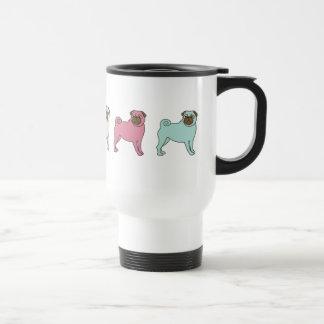 Pugs Coffee Travel Mug