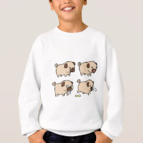 PUGS For Life! Sweatshirt