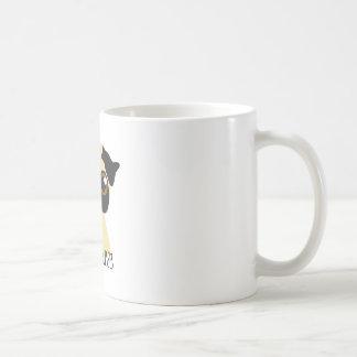 Pugs & Kisses Classic White Coffee Mug