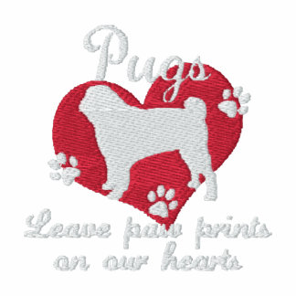 Pugs Leave Paw Prints Women's