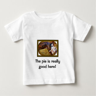 Pugs Like Pie! Baby T-Shirt
