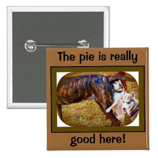 Pugs Like Pie! Pins