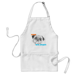Pugs Not Drugs Aprons