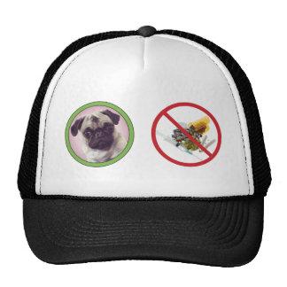 Pugs not drugs baseball hat.png trucker hat
