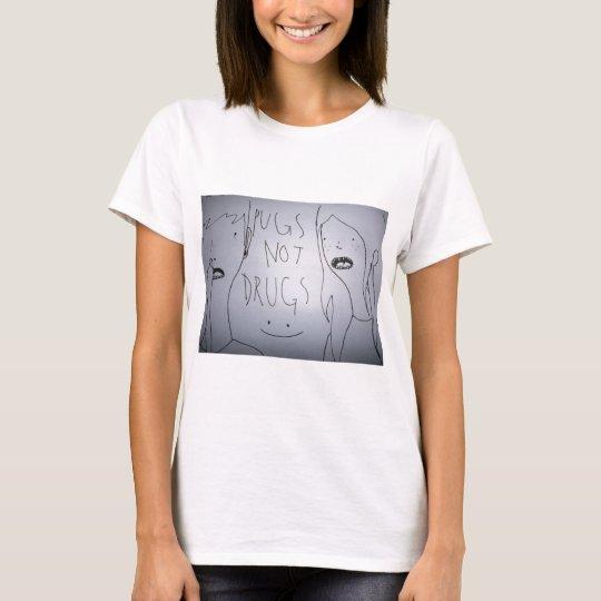 Pugs not Drugs Baseball T T-Shirt