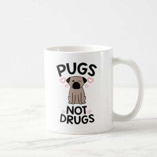 Pugs Not Drugs Coffee Mug
