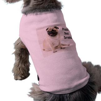 Pugs Not Drugs Doggie Ribbed Tank Pet Tshirt