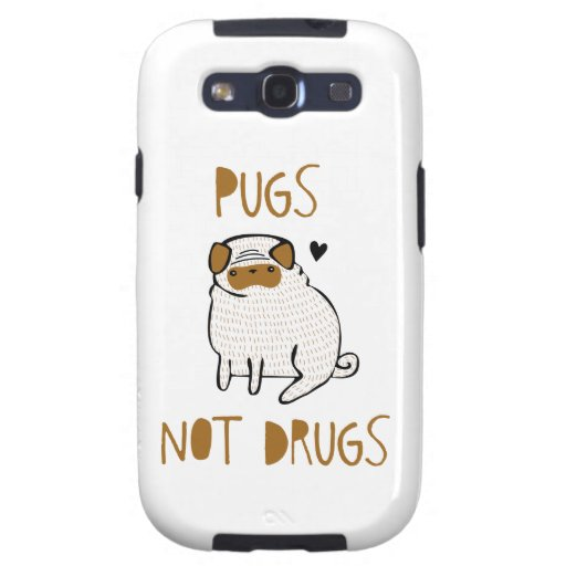 Pugs Not Drugs Galaxy SIII Cover