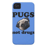 Pugs Not Drugs iPhone 4 Cases