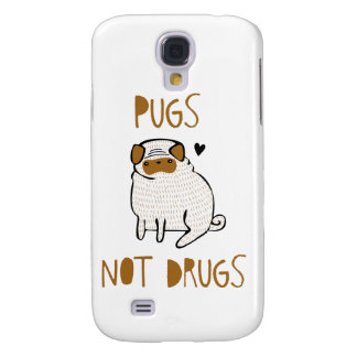 Pugs Not Drugs Samsung Galaxy S4 Cover
