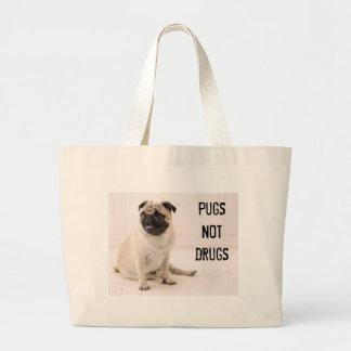 Pugs Not Drugs Tote