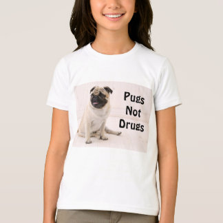 Pugs Not Drugs Youth T-shirt