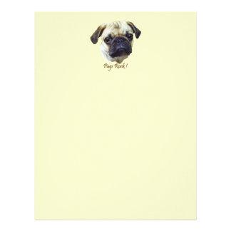 Pugs-Rock Customized Letterhead