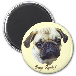 Pugs-Rock Magnet