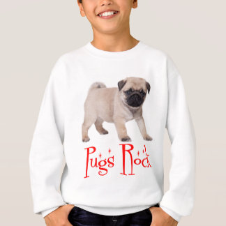 Pugs Rock Puppy Dog Boys / Kids Sweatshirt