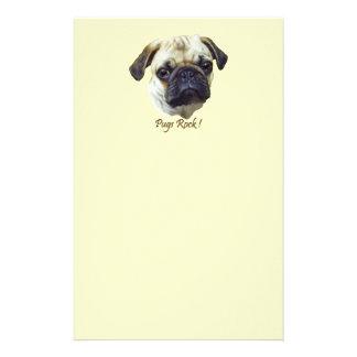 Pugs-Rock Stationery