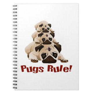 Pugs Rule! 1 Notebook