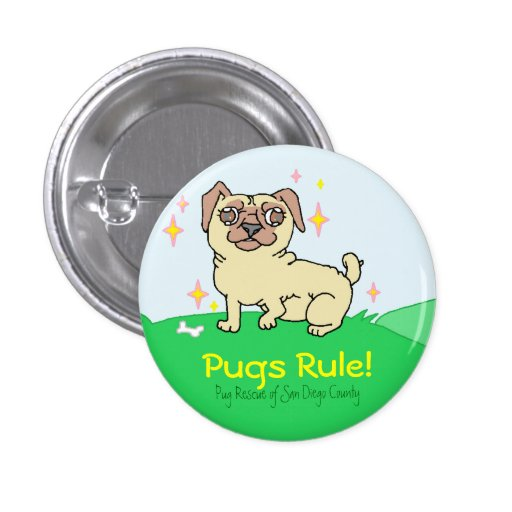 Pugs Rule! Buttons