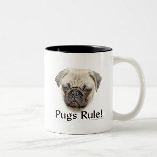 Pugs Rule Coffee Mugs