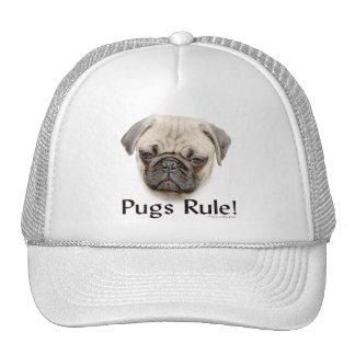 Pugs Rule Mesh Hat