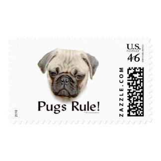 Pugs Rule Stamp
