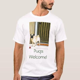 Pugs Welcome! T-Shirt