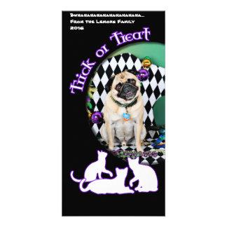 Pugsgiving Mardi Gras 2015 - Boss - Pug Card