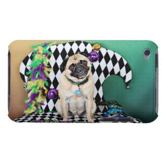Pugsgiving Mardi Gras 2015 - Boss - Pug iPod Touch Case-Mate Case