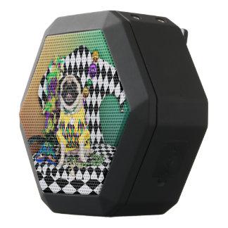 Pugsgiving Mardi Gras 2015 - Kylie - Pug Black Bluetooth Speaker