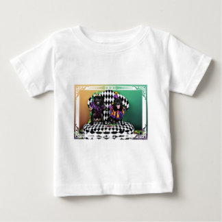 Pugsgiving Mardi Gras 2015 - Otto & Juliet - Pugs Baby T-Shirt