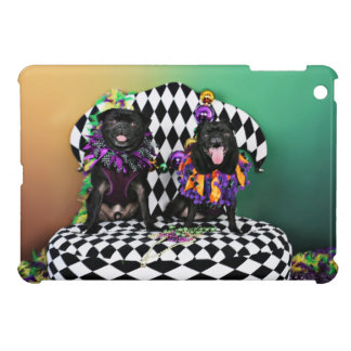 Pugsgiving Mardi Gras 2015 - Otto & Juliet - Pugs Case For The iPad Mini