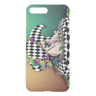 Pugsgiving Mardi Gras 2015 - Stanley - Pug iPhone 7 Plus Case