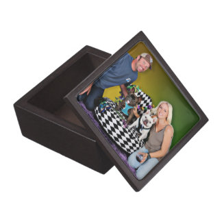 Pugsgiving Mardi Gras 2015 - Tux & Homer - Frenchi Jewelry Box