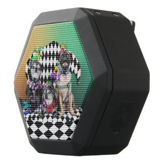 Pugsgiving Mardi Gras 2015 - Wendy Madison Nelson Black Bluetooth Speaker