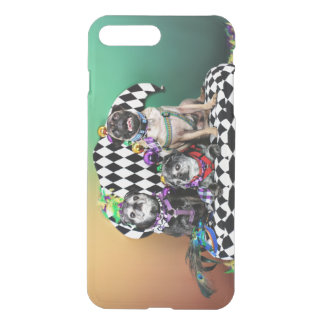 Pugsgiving Mardi Gras 2015 - Wendy Madison Nelson iPhone 8 Plus/7 Plus Case