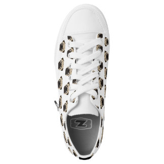 Pugsley Lace Up Low-Top Sneakers