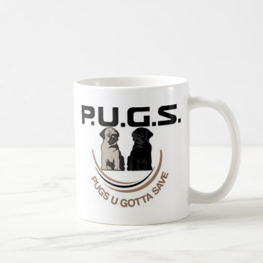 PUGSLogoPaidFinal500Percent.jpg Classic White Coffee Mug
