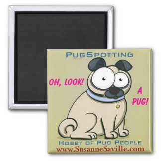 PugSpotting Magnet