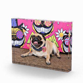 Pugstock 2015 - Boss - Pug Acrylic Award