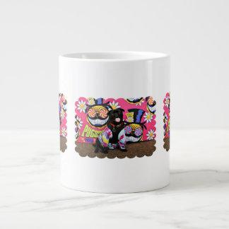 Pugstock 2015 - Louie - Pug Large Coffee Mug