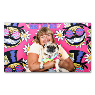 Pugstock 2015 - Lucy - Pug Magnetic Business Card