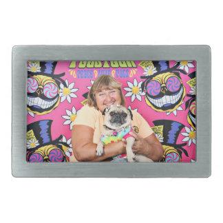 Pugstock 2015 - Lulu Coco - Pugs Rectangular Belt Buckles