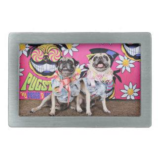 Pugstock 2015 - Lulu Coco - Pugs Rectangular Belt Buckle
