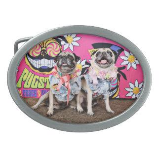 Pugstock 2015 - Lulu Coco - Pugs Belt Buckle